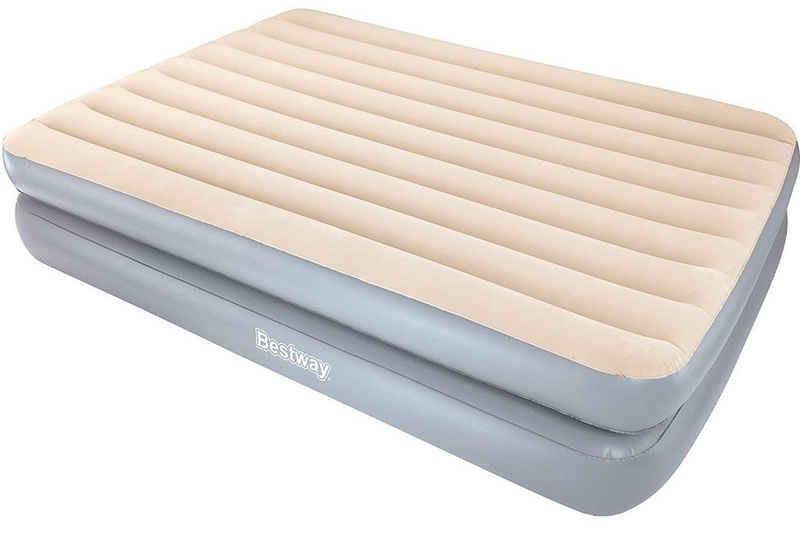 BESTWAY Luftbett »Luft-Bett Sleeplux 2m Luft-Matratze Gäste-Bett«, Doppel-Bett Queen-Size mit Reparaturflicken