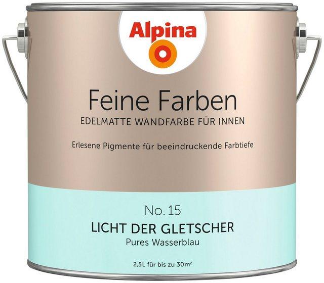 Alpina Feine Farben Licht der Gletscher, blau