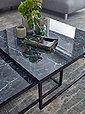 Wohnling Satztisch »WL6.235«, 2er Set Schwarz Marmor Optik Eckig Couchtische 2-teilig Tischgestell Metall Edle Wohnzimmertische Moderne Satztische, Bild 6