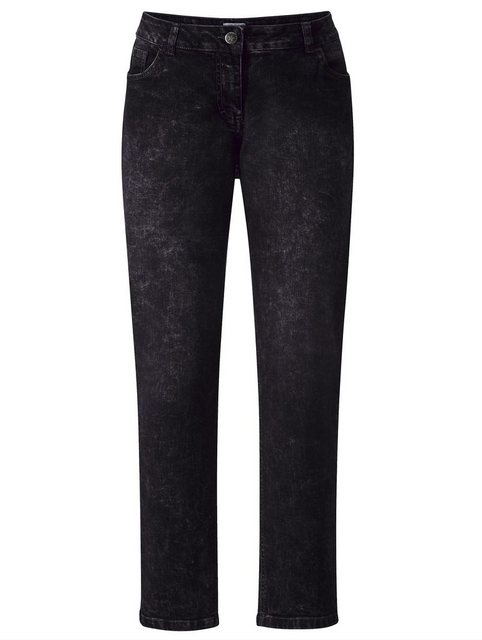 Hosen - Angel of Style by HAPPYsize Jeans mit Moon Waschung › grau  - Onlineshop OTTO