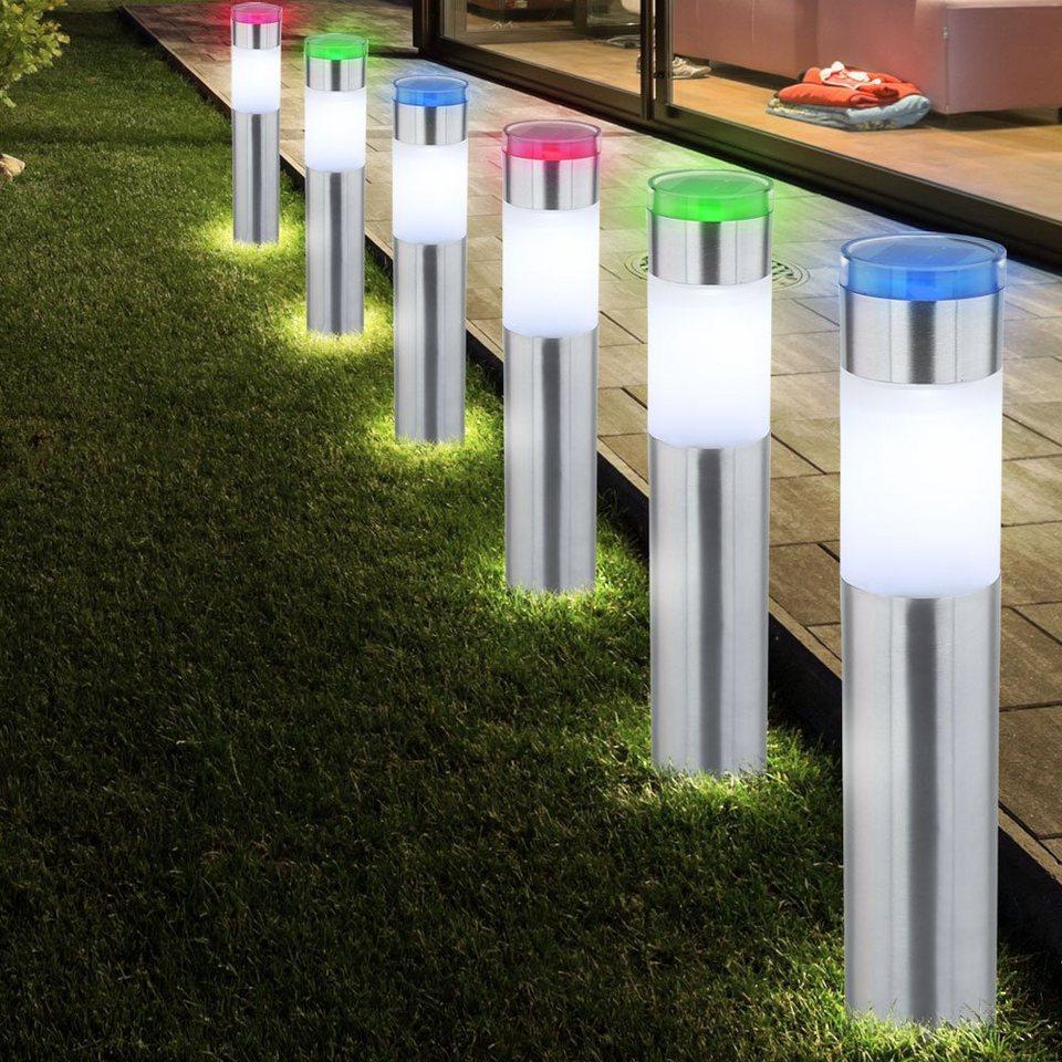 Solar LED Erdspieß Außen Garten Steck Beleuchtung IP44 Leuchte Lampe Marienkäfer