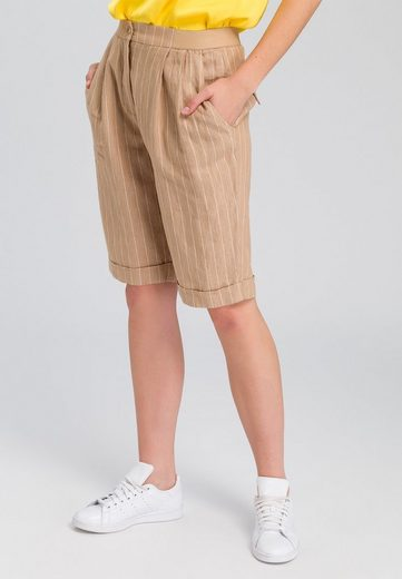 MARC AUREL Shorts im Streifen-Look