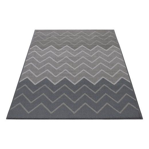 Designteppich »Florhöhe ca. 5mm Moderner Designteppich«, Giantore, Rechteck, Höhe 5 mm