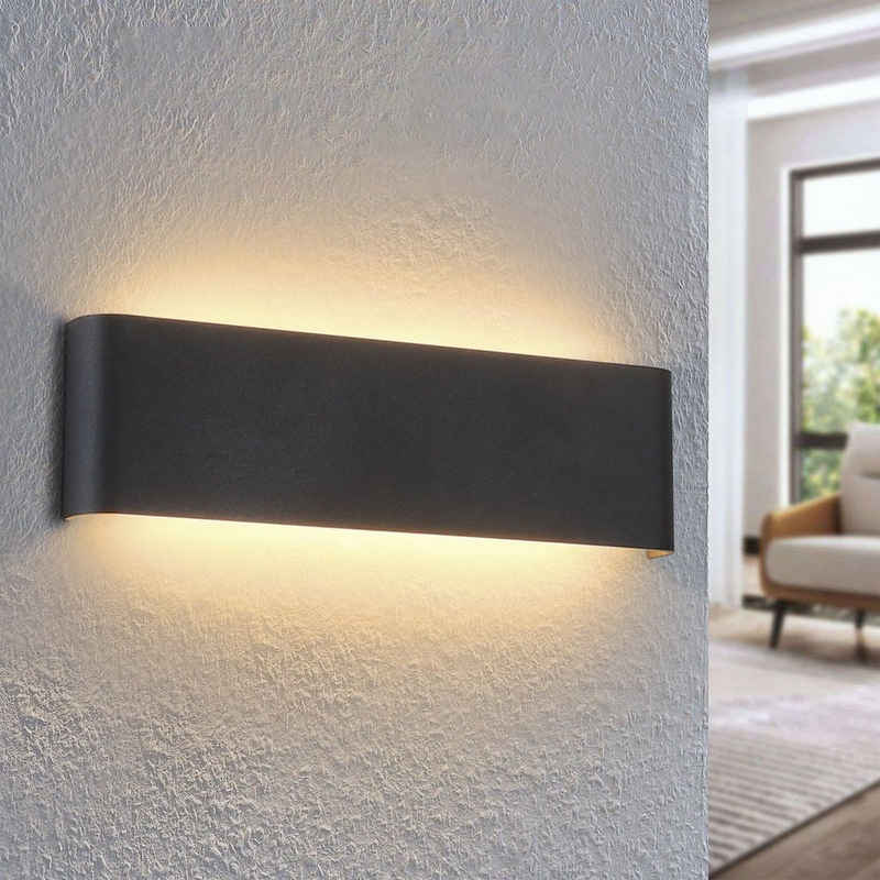 ZMH LED Wandleuchte »LED Wandleuchte Innen Wandlampen Modern Up Down Nachtlampe Flurlampe Warmweiß 3000K Wandbeleuchtung aus Metall für Wohnzimmer Schlafzimmer Treppenhaus Hotel«