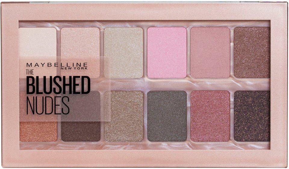 Maybelline The Blushed Nude - Szemhéjfesték paletta, 12