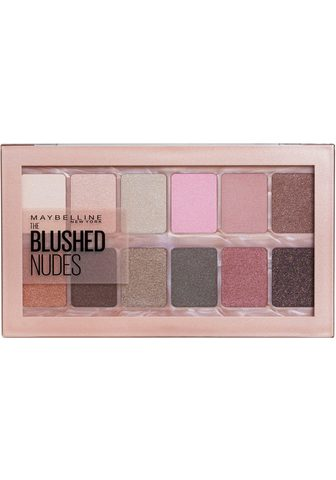 MAYBELLINE NEW YORK Lidschatten-Palette »The Blushed Nudes...