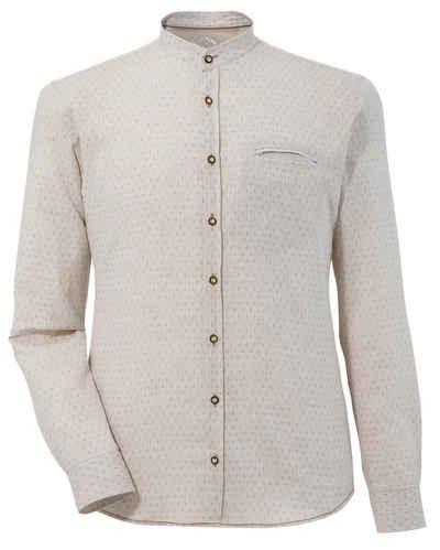 Murk Trachtenhemd mit feinem Muster