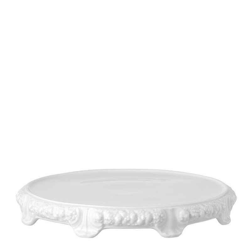 Rosenthal Tortenplatte »Maria Weiß Tortenplatte mit Fuß«, Porzellan