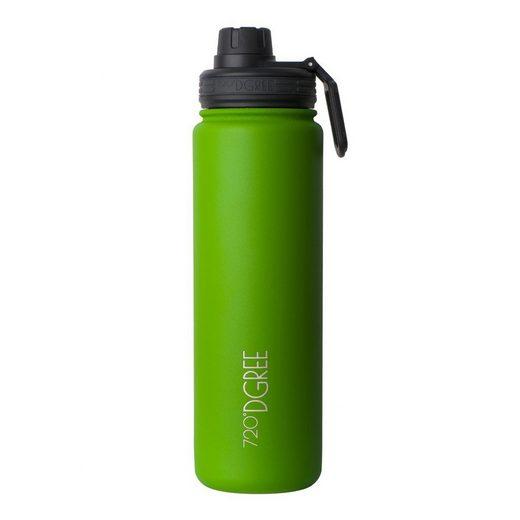 720°DGREE Trinkflasche »noLimit«, Trinkflasche, Wasserflasche, Isolierflasche, Thermo-Flasche 710ml, noLimit, Auslaufsicher, Sportflasche, für Schule, Sport, Fahrrad, Outdoor, Wandern, mit Sportdeckel und zusätzl. Drehdeckel