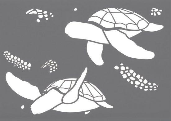 "Schablone ""Meeresschildkröten"" DIN A4"