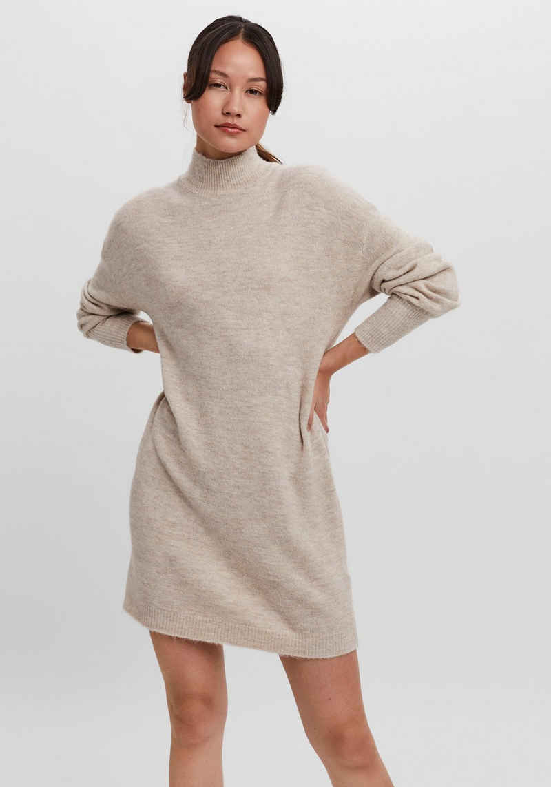 Vero Moda Strickkleid »VMLEFILE LS HIGHNECK DRESS«