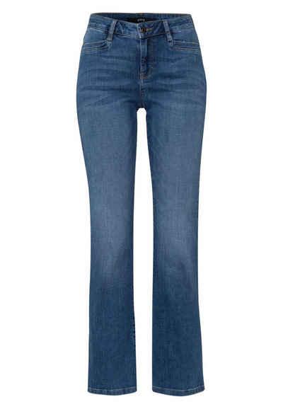 Zero 5-Pocket-Jeans »Bootcut 32 Inch« Plain/ohne Details