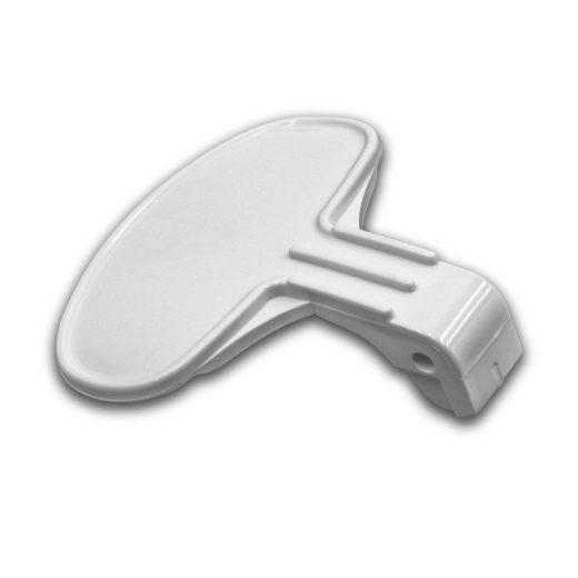 vhbw Türgriff, passend für Hoover Nextra H45TCKD, OHFN4117, PPW166-80 Waschmaschine