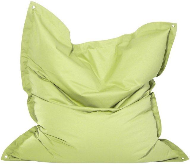OUTBAG Meadow Outdoor-Kissen Sitzsack plus lime/hellgrün (1 Stück)