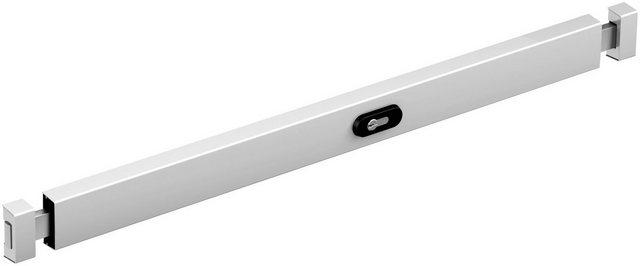 BASI Türzusatzschloss »silber für Türen zwischen 900 - 1050 mm«, Panzerriegelschloss