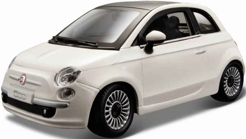 Bburago Sammlerauto »Fiat 500 (2007)«, Maßstab 1:24