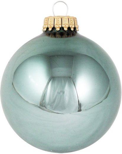 Krebs Glas Lauscha Weihnachtsbaumkugel »CBK70074« (8 Stück)