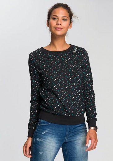 KangaROOS Sweatshirt im sportlichen Minimal-Print