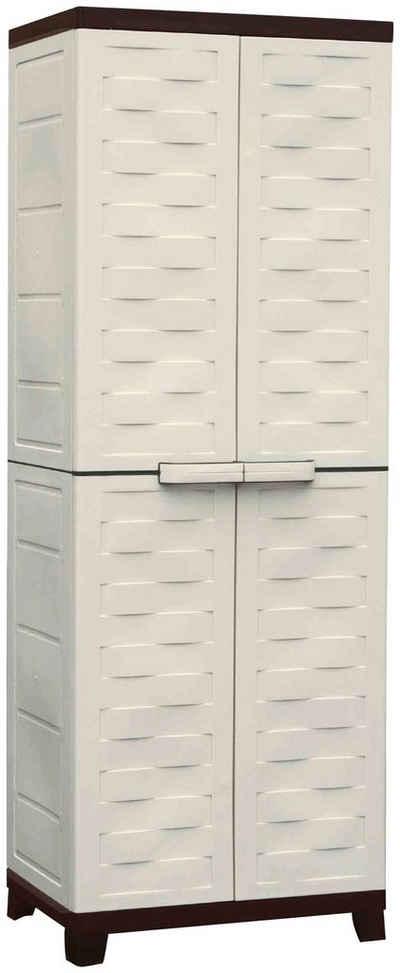 Kreher Mehrzweckschrank »Premium« BxTxH: 65x45x181,5 cm, mit 4 verstellbaren Einlegeböden