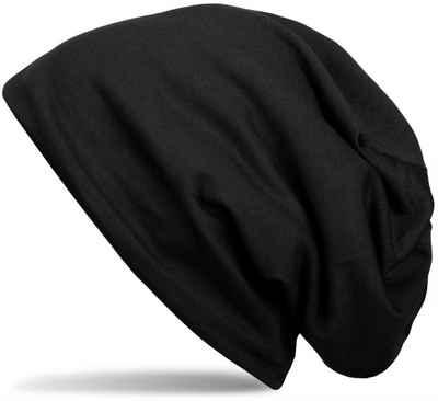 styleBREAKER Beanie »Unifarbene Beanie Mütze mit Fleece« Unifarbene Beanie Mütze mit Fleece