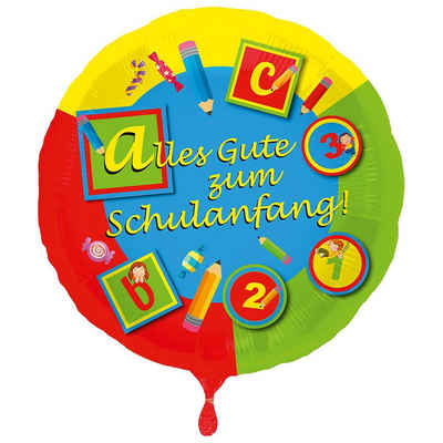 Folat Folienballon »Folienballon Alles Gute zum Schulanfang«