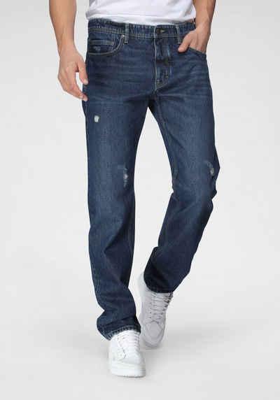 s.Oliver 5-Pocket-Jeans mit Destroyed-Effekten