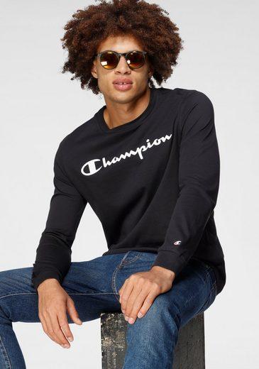 Champion Langarmshirt »Crewneck Long Sleeve T-Shirt«