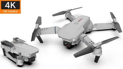 U-S-B Unleashed-Shop-Bolt »Drohne E88 Pro - inkl. 2x Akku 1800 mAh« Drohne (Full HD, Spar-Set, 2x Akku 1800 mAh, faltbar/kompakt, 2x Kamera (vorne & unten), Fernbedienung mit Smartphonehalterung)