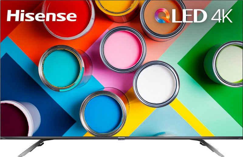 Hisense 50E76GQ QLED-Fernseher (126 cm/50 Zoll, 4K Ultra HD, Smart-TV, Quantum Dot, Dolby Vision & Atmos, USB Recording)