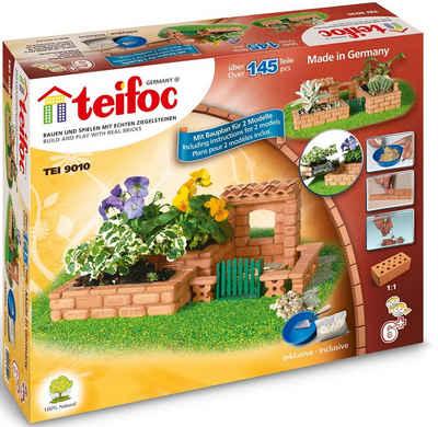 teifoc Steinbaukasten »Garten«, (145 St), Made in Germany