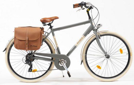 VENICE - I love Italy Cityrad »Citybike 605 Alu Man«, 6 Gang, Kettenschaltung