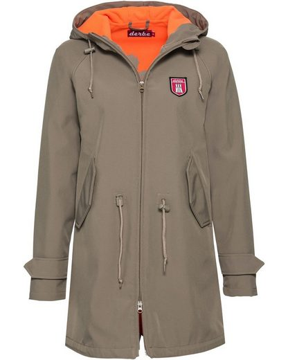 Derbe Outdoorjacke »Softshell-Parka Island Friese«