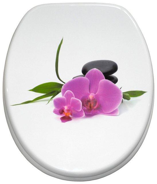 WCs und Zubehör - Sanilo WC Sitz »Orchidee«, mit Absenkautomatik  - Onlineshop OTTO