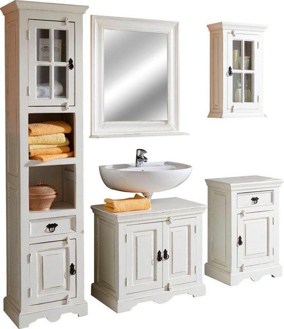 Badezimmer Sets - SIT Badmöbel Set »Toldedo«, (Set, 5 tlg), im Shabby Chic Stil  - Onlineshop OTTO