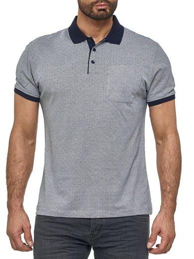 Max Men Poloshirt »3089« Herren Poloshirt mit Kragen Basic Punkte