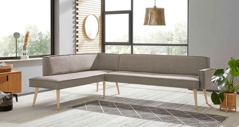 exxpo - sofa fashion Eckbank »Lungo«, Frei im Raum stellbar