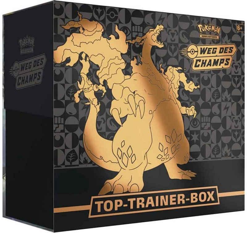 AMIGO Sammelkarte »Pokemon Weg des Champs Top Trainer Box - Deutsch«