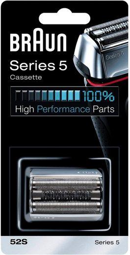 Braun Ersatzscherteil »Series 5 52S«, kompatibel mit Series 5 Rasierern