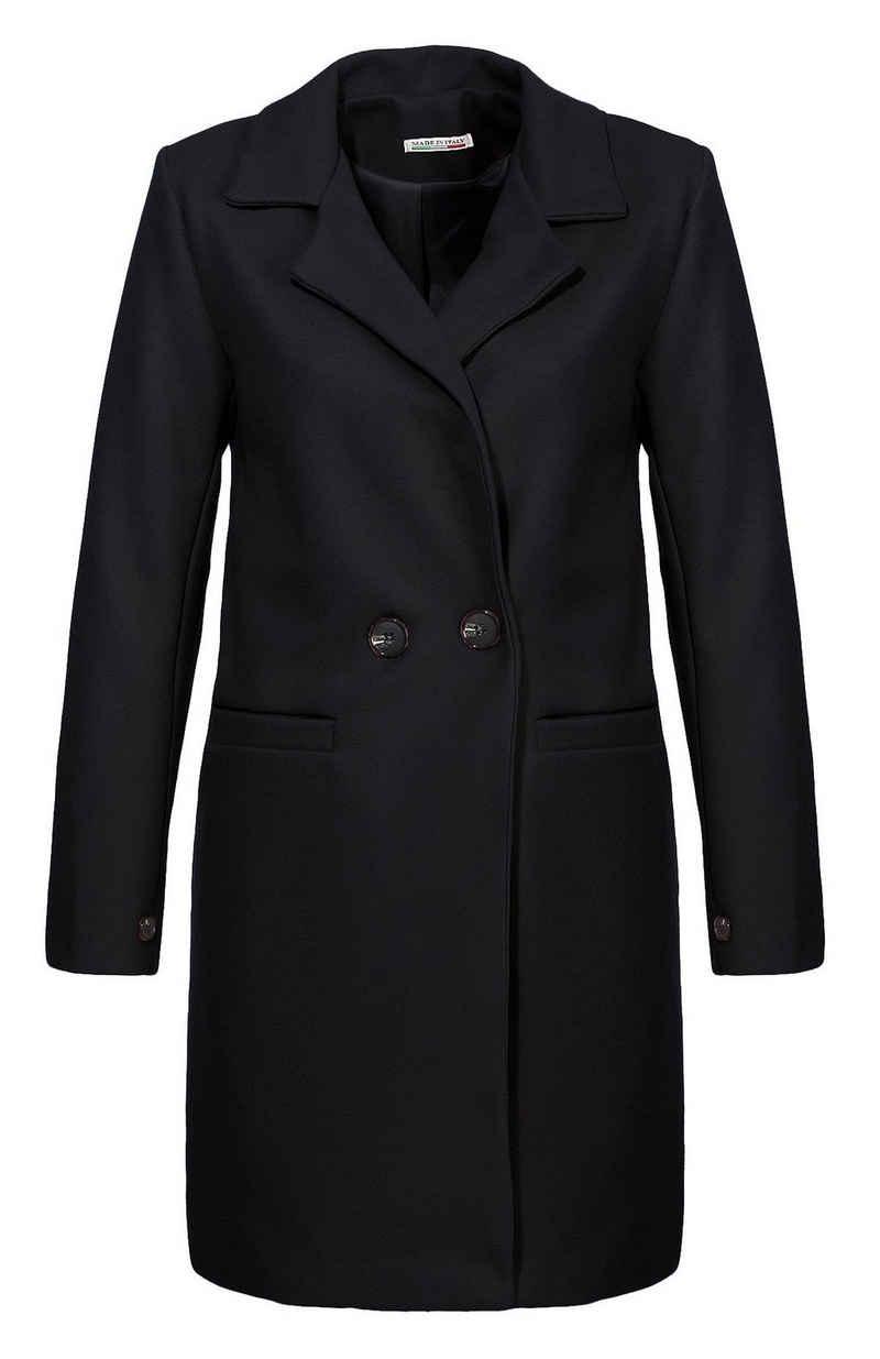 malito more than fashion Trenchcoat »19691« Reverskragen
