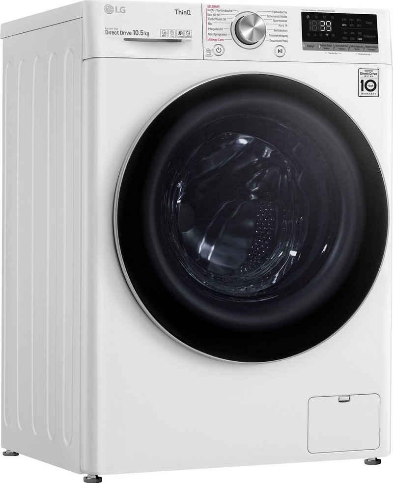 LG Waschmaschine Serie 7 F4WV710P1E, 10,5 kg, 1400 U/min