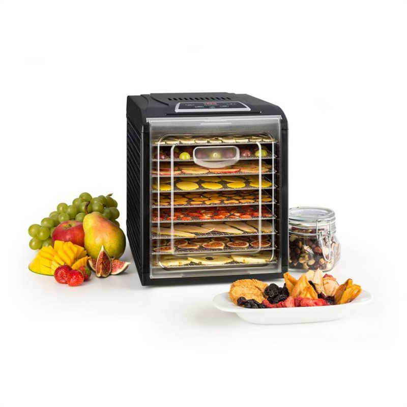 Klarstein Dörrautomat »Fruit Jerky Plus 9 Dörrautomat Timer 9 Ablagen 600-700 W 35-70 °C« 700 W, 9 Etagen