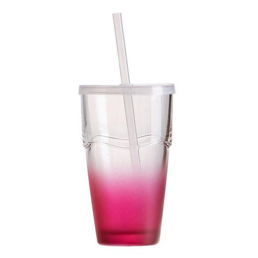 Ritzenhoff & Breker Longdrinkglas »Cool Summer Rot, 370 ml«, Glas