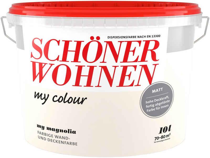 SCHÖNER WOHNEN-Kollektion Wand- und Deckenfarbe »my colour - my magnolia«