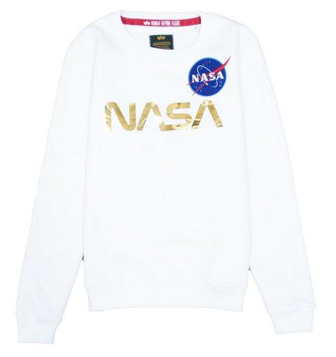 Alpha Industries Sweater »NASA PM« (1-tlg)