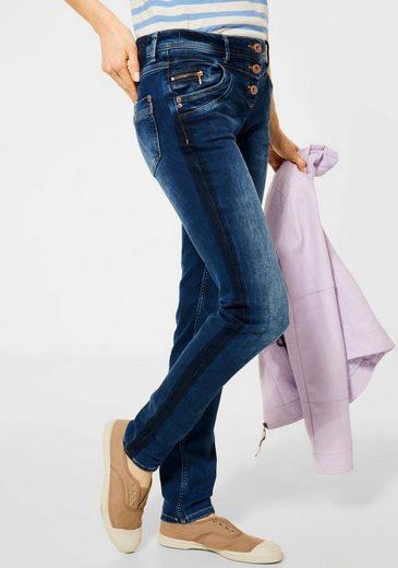 Cecil Skinny-fit-Jeans »Scarlett« mit Seitenstreifen