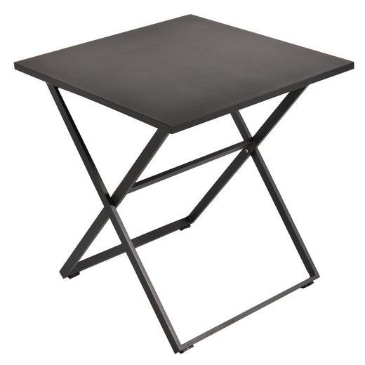 GARDEN ART Gartentisch »Klappbarer Tisch« (1-St), Aluminium, klappbar