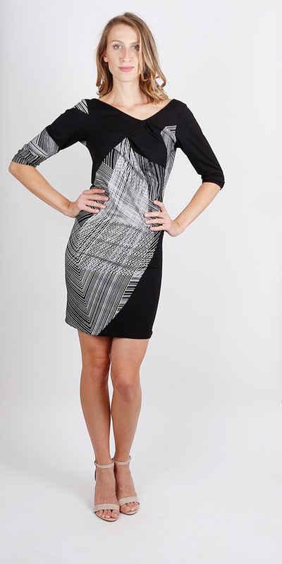 kaseee 2-in-1-Kleid »bedrucktes kaseee Jersey-Kleid mit Falten«