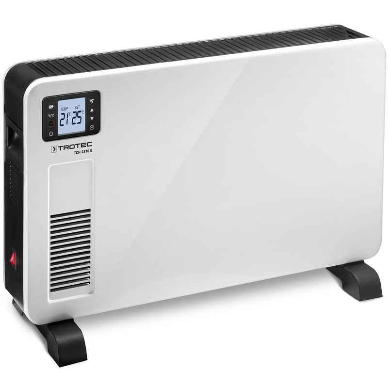 TROTEC Konvektor TCH 2310 E, 2300 W, Heizleistung für saubere, kondensfreie und geruchlose Wärme