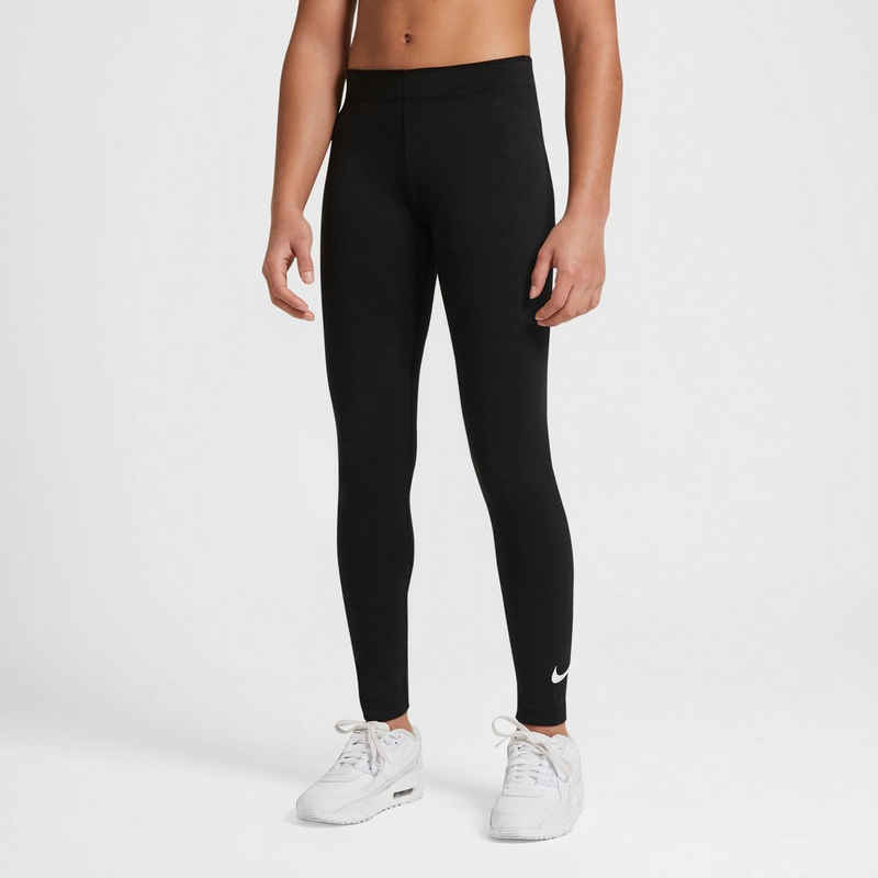 Nike Sportswear Leggings »BIG KIDS (GIRLS) SWOOSH LEGGINGS«