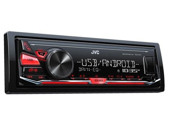 JVC Audio-System (JVC KD-X141 - MP3 USB Autoradio - Android Steuerung - 4x50Watt)